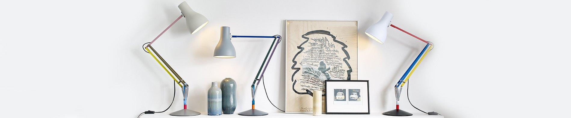Anglepoise wandlampen