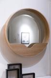 Zuiver Round Wall spiegel '60