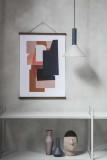 Ferm Living Cone Light Grey hanglamp