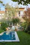 Fermob Bellevie 2-zits tuinbank kussen wit