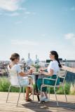 Fermob Luxembourg tuinstoel met armleuning