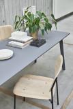 Hay CPH Deux 210 tafel 200x75 met onbewerkt beuken onderstel
