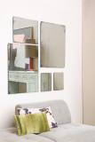 HKliving Antique Look spiegel M 40 x 50