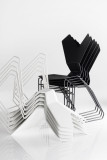 Tom Dixon Y Chair stoel met slede onderstel