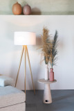 Zuiver Tripod Wood vloerlamp