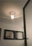 Luceplan Blow plafondlamp Transparant