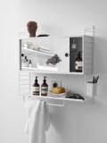 String Furniture Kast badkamer medium, grijs