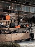 String Furniture Cabinet with two drawers 58 x 30 x 42 cm