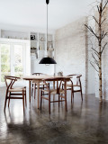 Carl Hansen & Son CH24 Wishbone stoel Colours Natural Paper Cord