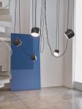 Flos Aim hanglamp set van 3 LED zwart