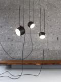 Flos Aim hanglamp set 5 LED zwart