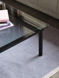 Hay Kofi salontafel zwart gelakt eiken 80x80