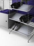 String Furniture Kast met openslaande deur 58x42x30cm