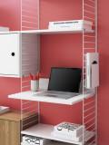 String Furniture Media shelf 47x58cm