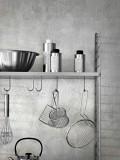 String Furniture Hoge keukenkast medium, grijs