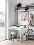String Furniture Hoge kast 5 medium, grijs