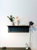 Hay Bracket Incl. Shelf wandplank small
