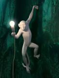 Seletti Monkey Hanging rechts wandlamp buiten