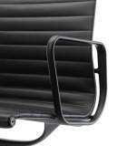 Vitra Aluminium Chair Black EA 108