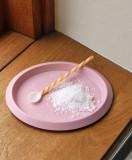 Hay Glass Spoons Round lepels set van 2