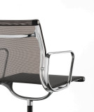 Vitra EA 104 stoel verchroomd onderstel