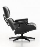 Vitra Eames Lounge chair fauteuil (nieuwe afmetingen) zwart