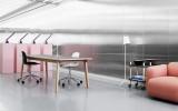 Normann Copenhagen Form Armchair bureaustoel met aluminium onderstel