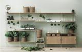 String Furniture Bowl Shelf 78 x 30 cm wit plastic