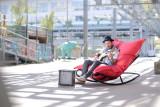 Fatboy Rock 'n roll schommelstoel met Original zitzak