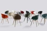 Hay About a Chair AAC22 stoel zwart gelakt onderstel
