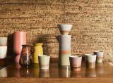 HKliving 70's ceramic coffee pot en filter