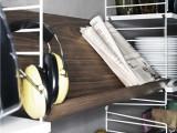 String Furniture Hoge kast 3 medium, grijs