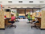 Vitra Allstar bureaustoel harde wielen voor tapijt