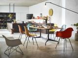 Vitra Eames LAR loungestoel zwart onderstel
