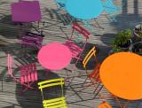 Fermob Bistroset tuin 71x71 tafel + 4 stoelen