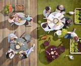Extremis Virus Outdoor picknickset 4-zit