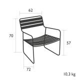 Fermob Surprising Teak fauteuil