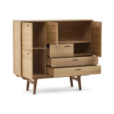 PBJ Designhouse Fifty Wide Highboard opbergkast 4
