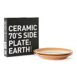 HKliving 70's Ceramic Bijgerecht bord set van 2