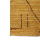 HKliving Hand Woven vloerkleed 120x180 ochre/brown