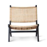 HKliving Tweedekansje - Webbing Lounge fauteuil