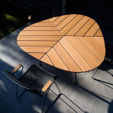 Houe Leaf tuintafel 146cm