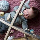 Sebra Quilted baby deken