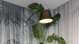 Artemide Tolomeo Mega parete wandlamp met aan-/uitschakelaar zwart