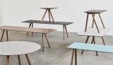 Hay Copenhague CPH25 tafel 140cm, gelakt walnoot