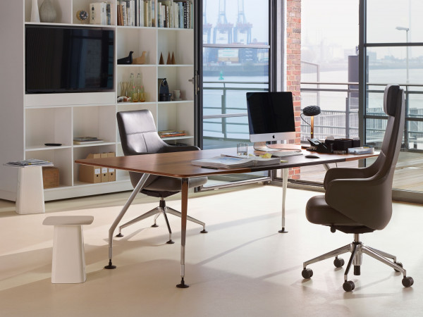 Vitra Metal Side Table bijzettafel klein 32x32