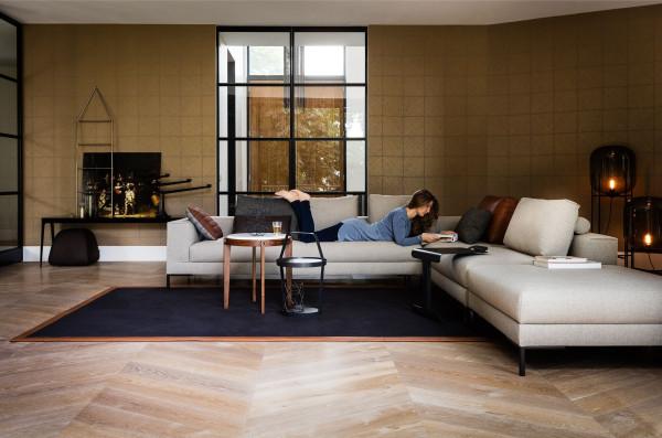 Design on Stock Aikon Lounge bank XL 3-zits 1-arm hoekopstelling