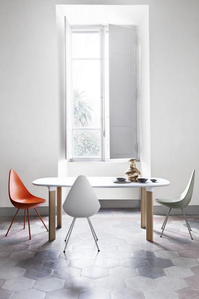 Fritz Hansen Drop Chair stoel