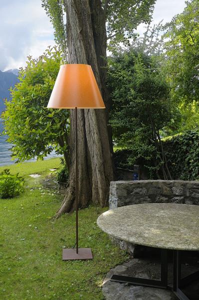 Luceplan Grande Costanza Open Air vloerlamp rust