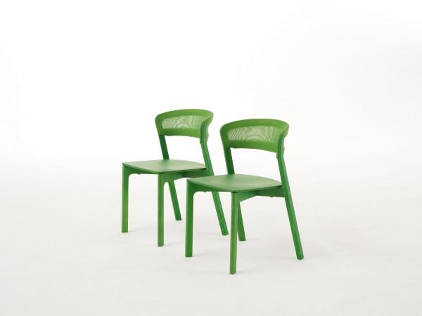 Arco Café Chair stoel groen